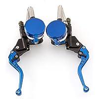 rzmmotor Universal Motocicleta 7/8 pulgadas 22 mm CNC freno hidráulico cilindro maestro de embrague