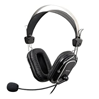 A4-Tech HS-50 Sound Headset 3.5 mm iChat