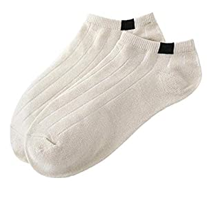 1Pair Socks Cotton Sport Sock Gift Comfortable Breathable Sports Socks Mens Plain Trainer Socks Mens Unisex Comfortable Stripe Cotton Sock Slippers Short Ankle Socks