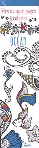 Océan : Mes marque-pages à colorier