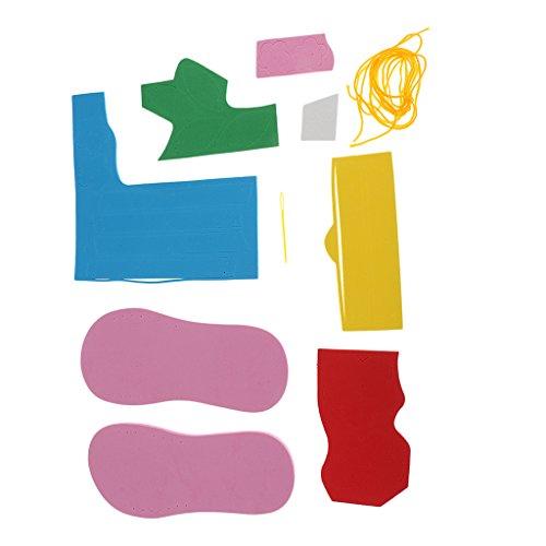 Phenovo Hand Craft EVA Foam Materials DIY Slipper Great Kids Educational Toys Flower