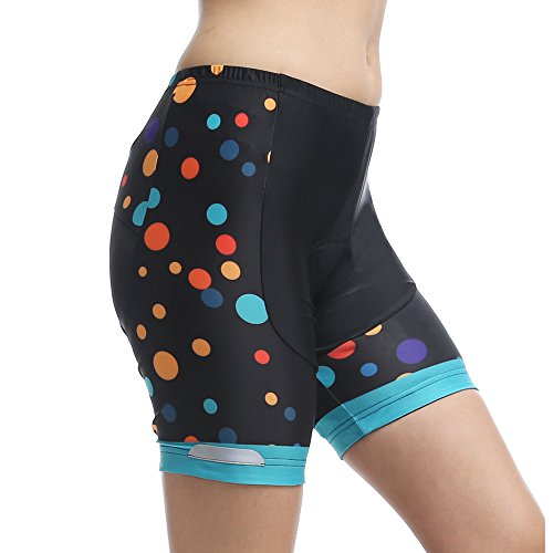 MYMYU Mujeres Ciclismo Shorts 3D Gel Tapicería...