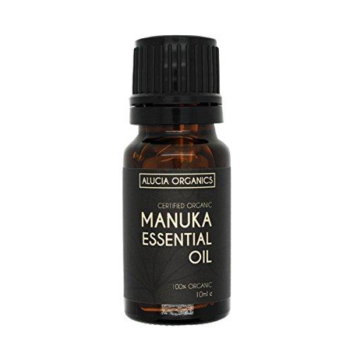 Alucia Organics Zertifiziertes Organisches Manuka Ätherisches Öl 10ml