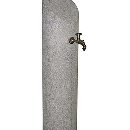Gartenbrunnen Brunnen aus Granit für Gartenmöbel Piazza Themse 120cm