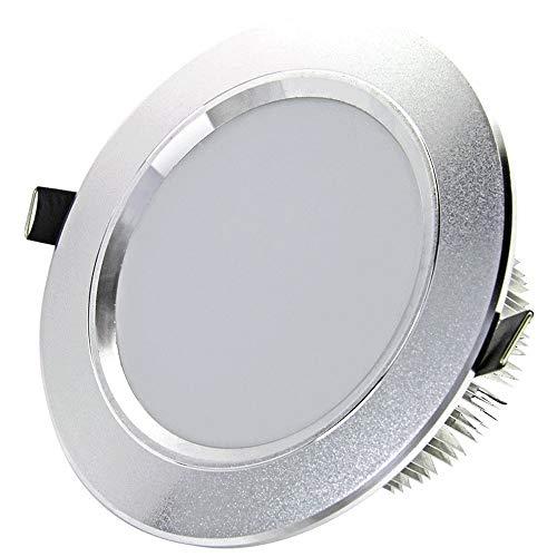 7w9w12w15w18w21wLED Downlights Deckenleuchten Strahler Einbauleuchten Runde Energiesparende ultradünne Innendeckenleuchten [Energieklasse A ++] (Color : 6000k-21W) (Quecksilber-glas-badezimmer-set)