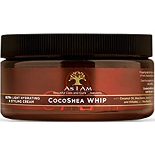 As I Am CocoShea Whip Ultra Light Hydrating & Styling Cream, 227g/8 oz.