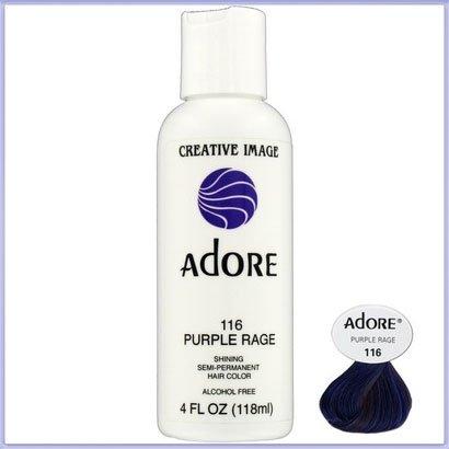 Spülen Sie Semi-permanenten Hair Farbe Purple Rage (116) 118ml