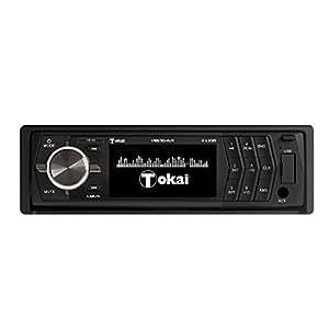 TOKAI - LAR75 AutoRadio - RDS - MP3  - USB  - SD - 4x45 W Noir