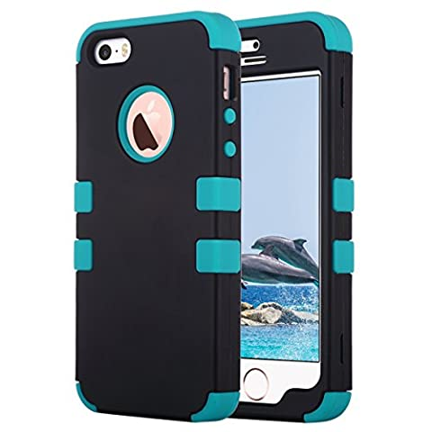 Coque iPhone 5S, ULAK iPhone SE Coque Housse de Protection