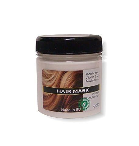 Natur Creme Haar Maske. veredelungstechnik und nährende für alle Haartypen mit Vitaminen und Shea Butter 150ml
