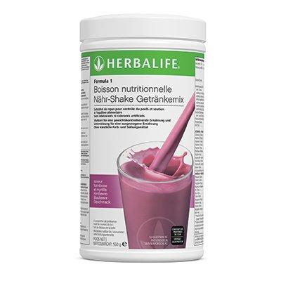 Herbalife Formula 1 Shake Gesunde Mahlzeit Himbeere-Blaubeere