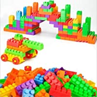 TOYSOLMANISH Building Block Set Multicolor Blocks for Toddlers and Kids, Building Block for Boys and Girls ,23 Pieces…