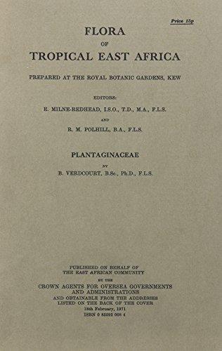 Verdcourt, B:  Flora of Tropical East Africa: Plantaginaceae