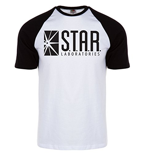 new-star-labs-retro-baseball-t-shirt-from-the-tv-show-the-flash-star-laboratories-by-james-stephens-