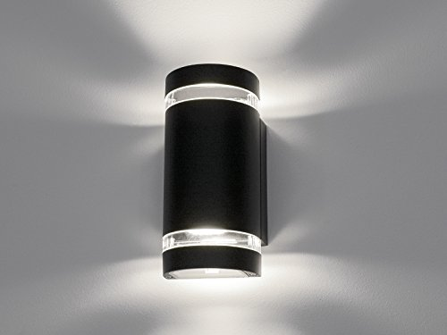 Led Wandlampe Up Down Außen Wandleuchte Ip44 Aufbau Leuchte