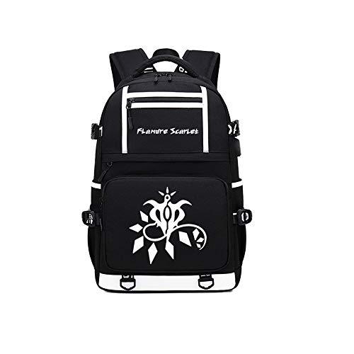 Touhou Project AnimeCasual Rucksack mit großer Kapazität für Laptop/College-Tasche/Büchertasche (Project M Kostüm)