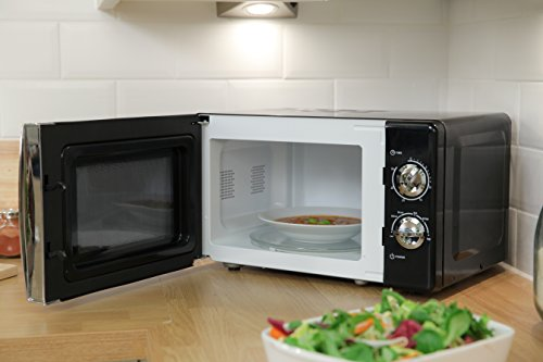 Russell Hobbs RHMM701B 17L Manual 700w Solo Microwave Black
