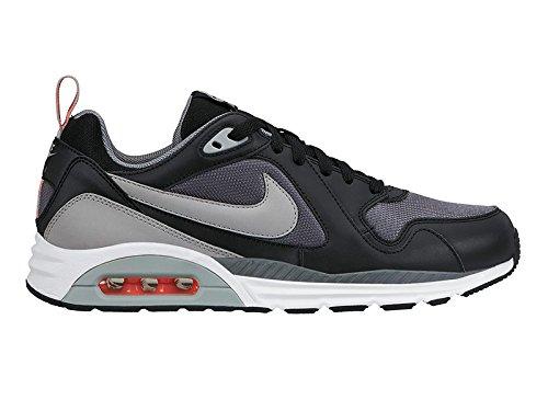Nike , Herren Sneaker grau Schwarz / Grau / Weiß / Rot