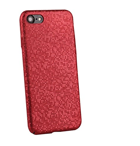 iPhone X Caso, PC Custodia Smartphone Ultra sottile per Adatto per iPhone X - antigraffio Antiscivolo (5.8-Pollici, Blu) Rosso