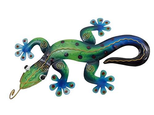 Klp Gecko Deko Lurch Eidechse Wanddeko Wandbild Salamander Echse Drache Skulptur -