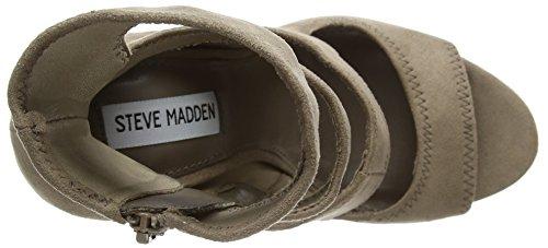 Steve Madden - Tawnie Sandal, Scarpe col tacco Donna Brown (Taupe)