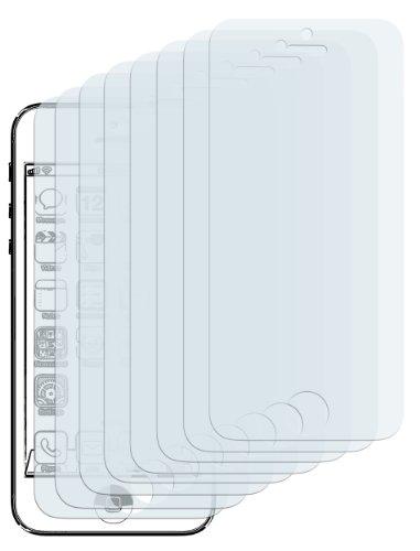 mumbi Schutzfolie kompatibel mit Apple iPhone SE 5S 5C 5 Folie klar, Bildschirmschutzfolie (8x)