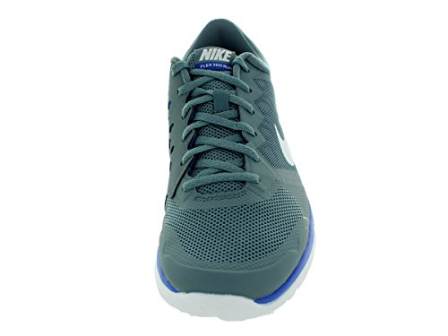 Nike Flex Run 2015, Chaussures de Running Compétition Homme Blue Graphite/White/Game Royal