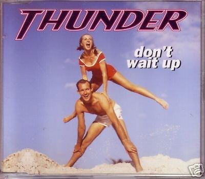 THUNDER CD Single - Don't wait up (3 tracks)