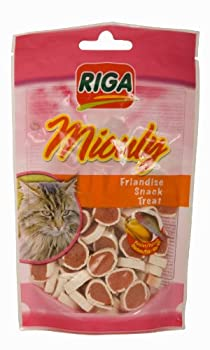 Riga - 3087 - Miouly Poulet Poisson 100 g - Friandises Chat