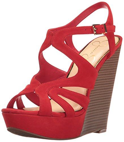 Jessica Simpson Frauen Pumps Rot Groesse 10 US/41.5 EU (Jessica Simpson Frauen Schuhe)