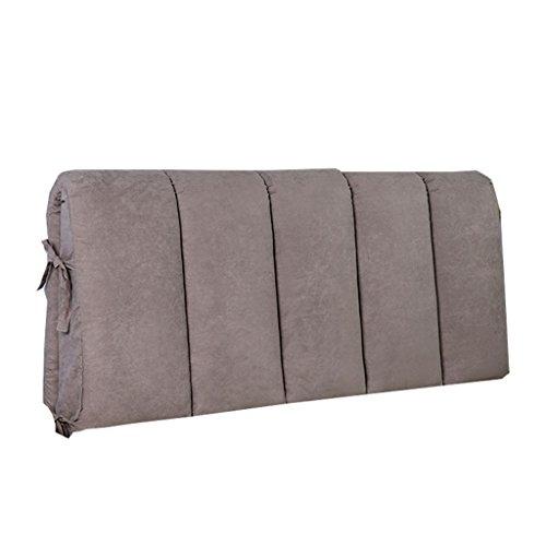 Uus cuscino/cuscino per testata letto/cuscino per schienale letto imbottito per letto grande proteggi il cuscino di lettura per collo e schiena pillow (dimensioni : 80×50cm)