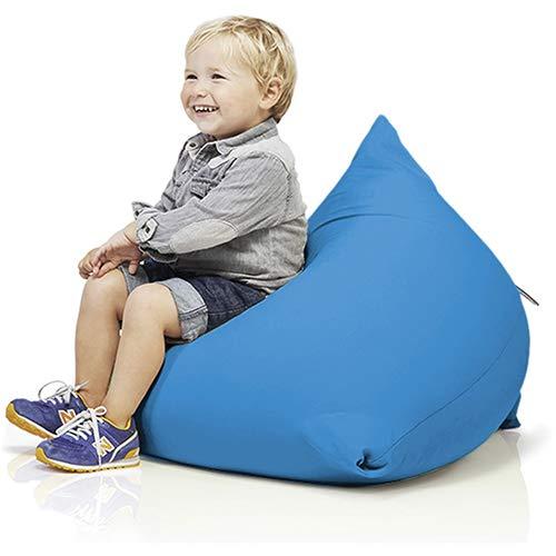 Terapy -PY8- Sydney Relax Indoor Sitzsack - Sitzkissen in 60x60x60cm - Kindersitzsack in türkis