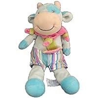 X- otros – Doudou Tiamo vaca azul rosa Rayure ...