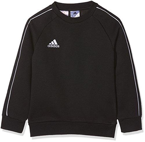 Adidas Core18 Sw Top Y Sudadera, Unisex Niños, Negro/Blanco, 5-6Y