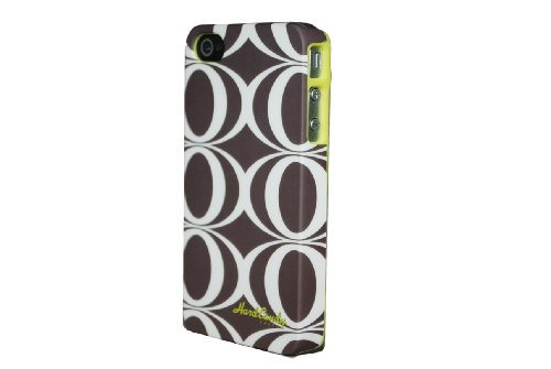 Hard Candy Cases PRT4S-OR Etui pour iPhone 4S Motif Orchid Motif O