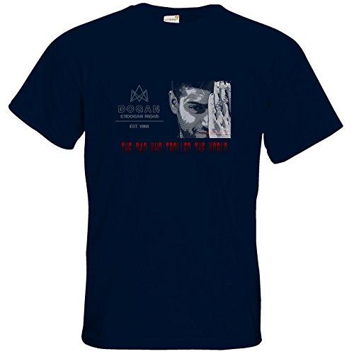 getshirts - TasteofGames - T-Shirt - The Man who trolled the world Navy