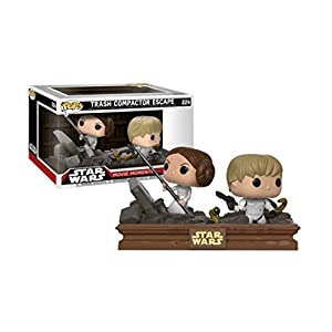 Funko Pop Luke y Leia en el compactdor de basura (Star Wars 224) Funko Pop Star Wars