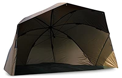 """Abode® Night & Day™ 50"""" Oval Umbrella Carp Session Brolly 5000 from Global Outdoors Ltd"""