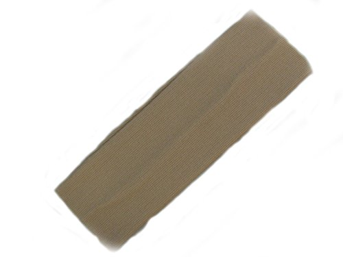 Beige Large extensible Head Band.