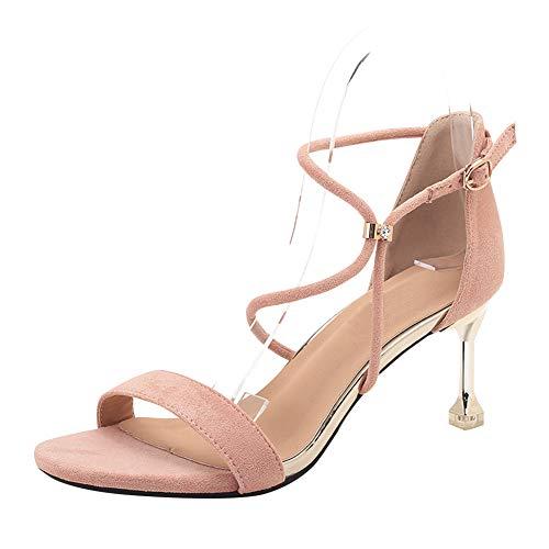 a4397dfa uirend Zapatos para Mujer Sandalias de Vestir - Tacón Embudo Punta Abierta  Tacones Altos Hebilla Encantos