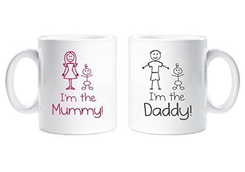 im-the-mummy-im-the-daddy-mug-set-family-present-new-daddy-mum-dad-new-baby-gift-cup-ceramic