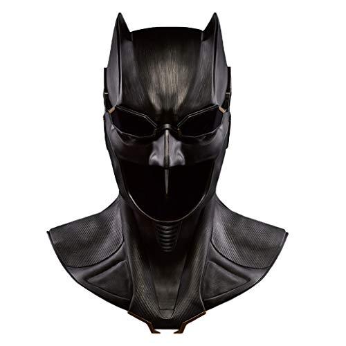 gue Batman 1: 1 Maske Helm Adult COS Head Helm Maske Halloween Ostern Weihnachten Maskerade Parteien tragbare Cosplay Prop Serie,Black-<61cm ()