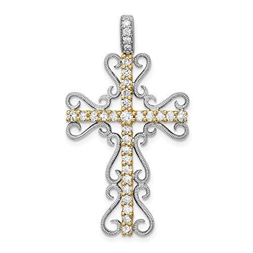 t Diamant filigranes Kreuz ()