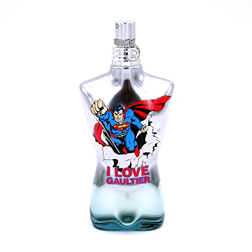 Jean Paul Gaultier Le Male, Eau Fraîche Superman Edition Eau de Toilette Spray, 1er Pack (1 x 125 ml)