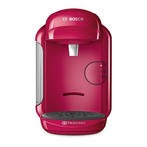 Tassimo Máquina de Café y Multibebidas, Máquina T-Disc, Cafetera, Vivy T14, Rosa, TAS1401