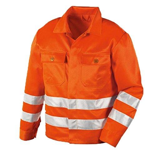 teXXor Warnschutzjacke Rockford Arbeitsjacke mit Reflexstreifen, 52, orange, 4111