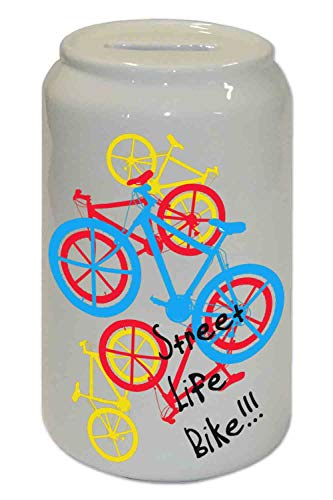 Capricci Italiani - Hucha cerámica Bicicleta