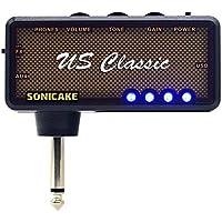 SONICAKE de bolsillo para uso con auriculares US Classic para guitarra