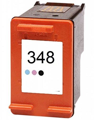 Hp Photosmart Photo Printing (Printing Pleasure Foto-Tintenpatrone für HP PSC 1610 OfficeJet 6310 J6410 H470 DeskJet 460 5420 6840 6940 9800 D4260 Photosmart C4480 C4580 2610 7850 8050 8150 8750 | kompatibel zu HP 348 (C9369EE))