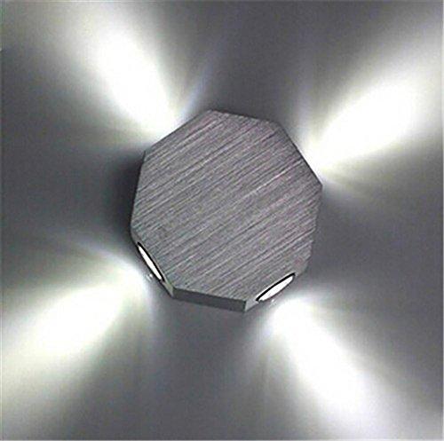 Wand-Lampe LED, Spiegel-Lampe Aluminium-Wand-Lampe Gang Moderne einfache Beleuchtung Fixtures